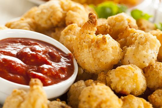 Organic Breaded Popcorn Shrimp