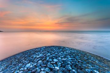 Wall Mural - Sunset from Pier Head