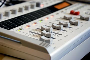 grey mixer in studio2