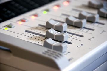 grey mixer in studio3