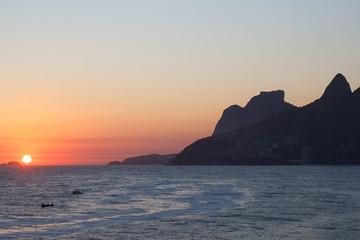 Sunset from Arpoador, Rio de Janeiro