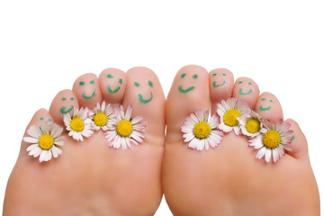 gesunde Füße