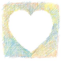 cuore colorato