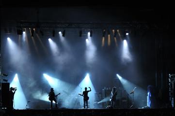 Rock concert live