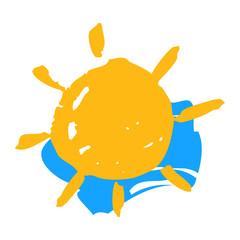 Sun and sky symbol
