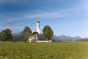 Wall Mural - Allgäu, Schwangau, Wallfahrtskirche St. Coloman