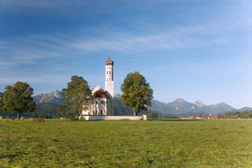 Fotomurales - Allgäu, Schwangau, Wallfahrtskirche St. Coloman