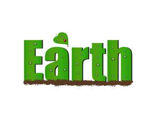 Earth Text, Illustration
