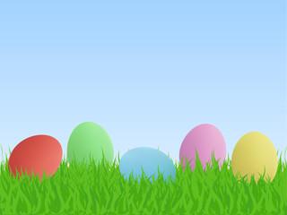 Easter Eggs, Illustration