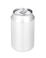 Aluminum beer or soda can