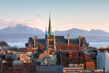 Lausanne, Switzerland Wall mural