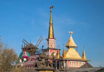 Roofs and turrets