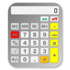 Grey calculator