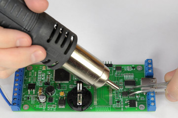 Heater chip soldering PCB