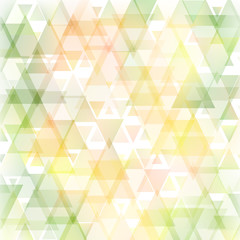 Abstract triangle tender background