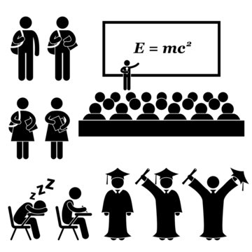 Student Lecturer Teacher School College University Graduate