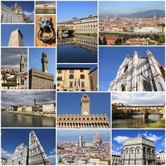Florence - collage set