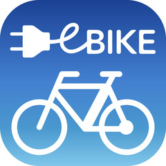 e-bike vector button design