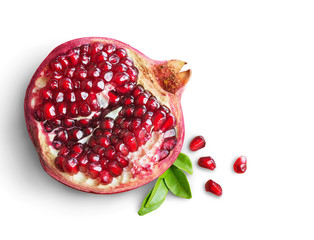 Photo sur Aluminium Fruits pomegranate fruit