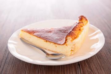 pastry slice, cheesecake