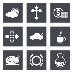 Icons for Web Design set 31