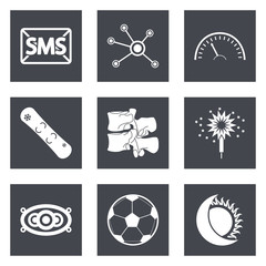 Icons for Web Design set 40
