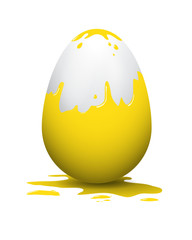 easter egg yellow