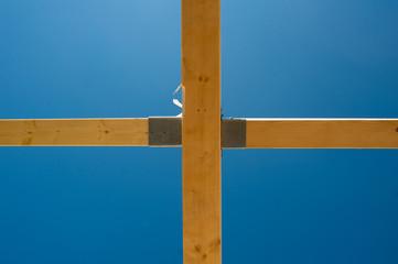 charpent en croix