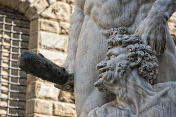 Florence Piazza della Signoria Statue