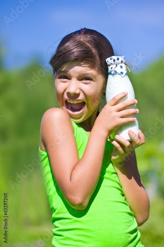 photo of girls milk № 7511