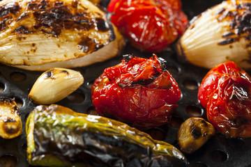 Healthy Organic Roasted Vegetables