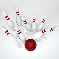 Bowling - The strikes