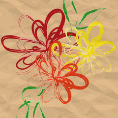 Flower Background  0104