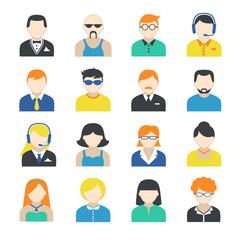 Avatar Character Icons Set
