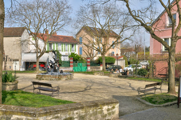 France the city of Villennes sur Seine