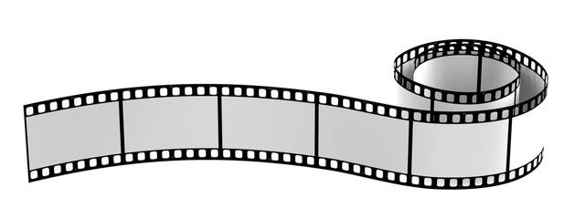 realistic 3d render of film reel