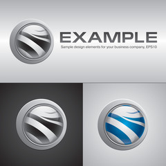 Example vector design elements for your business company
