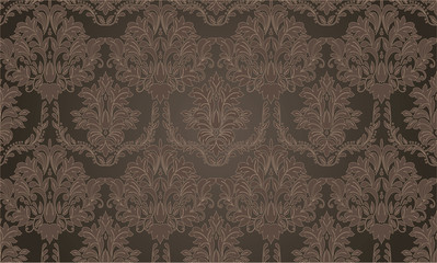 Seamless background in the style of baroque