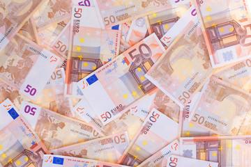 50 Euro, seamless background