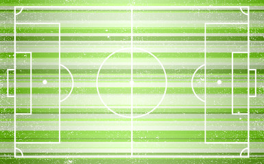 Football field. Illustration 10 version.