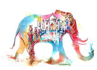 Papiers peints Peintures India