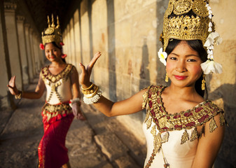 Traditional Apsara Dancers, Cambodia