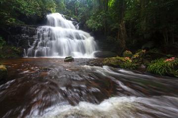 Mhundaeng waterfall Phu Hin Rong Kla; National Park