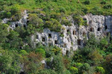Necropoli Pantalica Sicilia