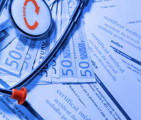 accidents du travail,coût pour l'assurance maladie
