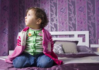 Child in bedroom