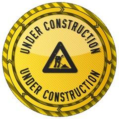 under construction button