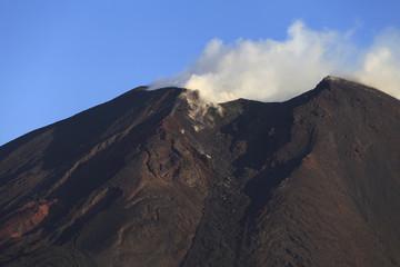 Volcano Pacaya in Guatemala, Central America