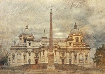 Basilica di Santa Maria Maggiore. Rome. Italy.