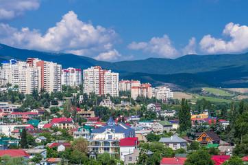 View on the city Alushta